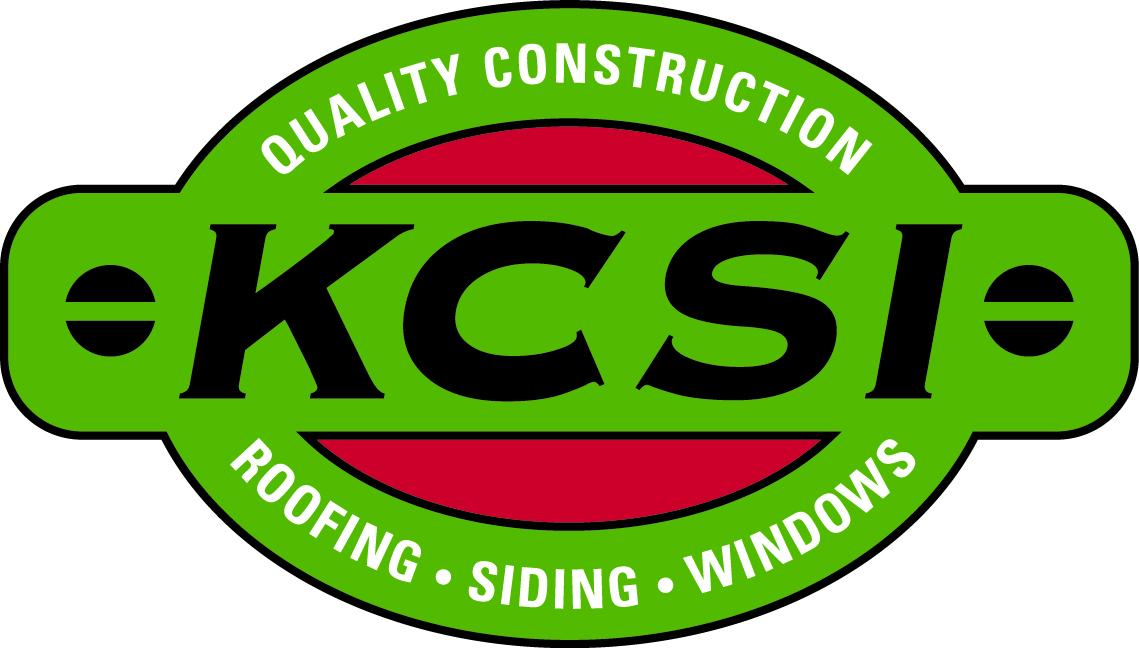KCSI - Siding, Roofing, Windows & Doors, and Gutters Logo