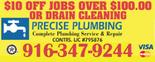 Precise Plumbing Company Logo