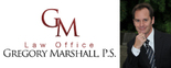 Gregory Marshall, P.S. Logo