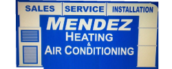 Jimmy Mendez Heating & Air Conditioning Logo