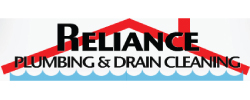 Reliance Plumbing & Drain Cleaning Logo