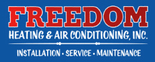 Freedom Heating & Air Conditioning, Inc. Logo
