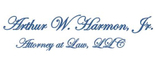 Arthur W. Harmon Jr. Attorney at Law, LLC Logo