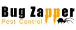 Bug Zapper Pest Control Logo