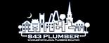 843 Plumber Logo