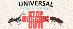 Universal exterminators inc logo