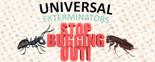 Universal Exterminators Logo
