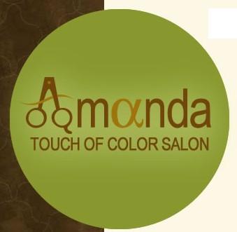 Amanda Touch Of Color Salon Logo