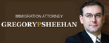 Immigration Attorney Gregory P. Sheehan Logo