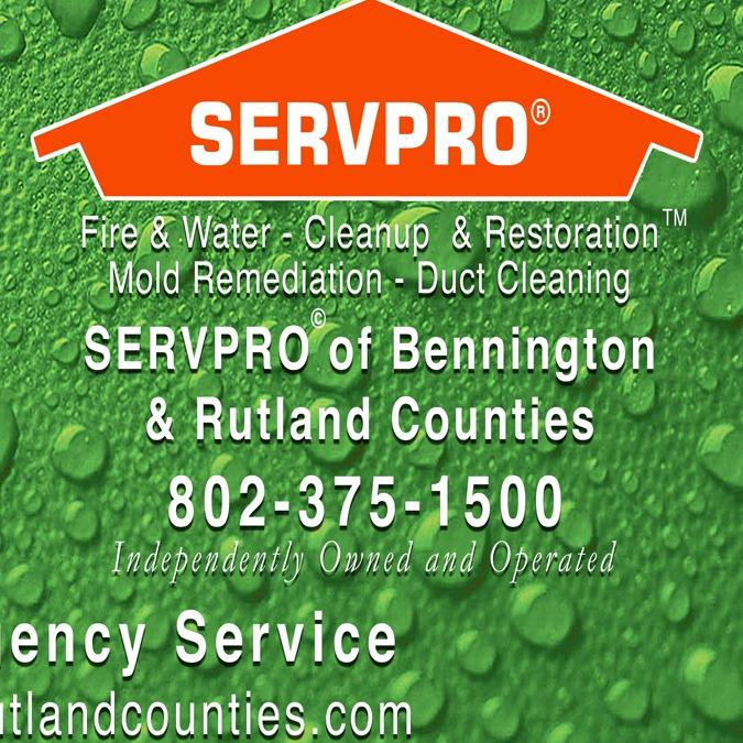 Servpro of Bennington & Rutland Counties Logo
