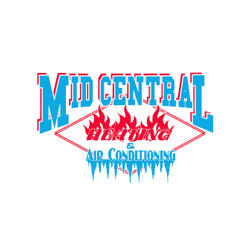 Mid-Central Heating & Air Conditioning Logo