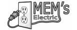 Mem's Electric Logo