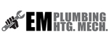 EM Plumbing Heating Mechanical Logo