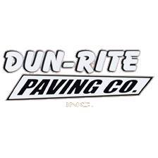 Dun-Rite Paving Co. Inc. Logo