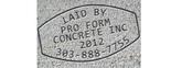 Pro Form Concrete Inc. Logo