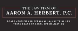 The law firm of aaron a. herbert logo