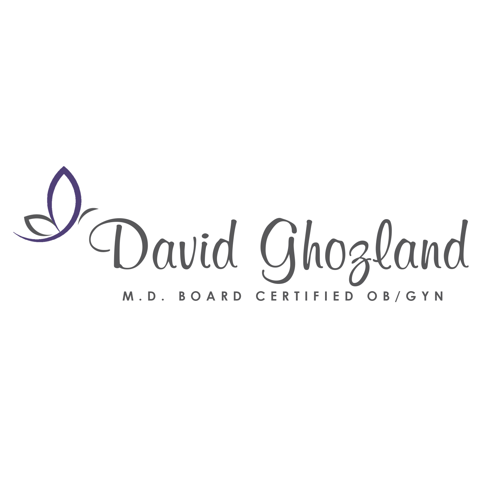 David Ghozland, M.D., INC. Logo