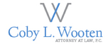 Coby L. Wooten, Attorney at Law, P.C. Logo