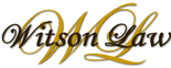 Witson Law, P.C. - Car Accidents Logo