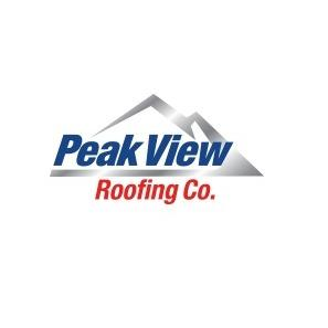 Peak View Roofing Company Logo