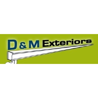 D & M Exteriors Logo