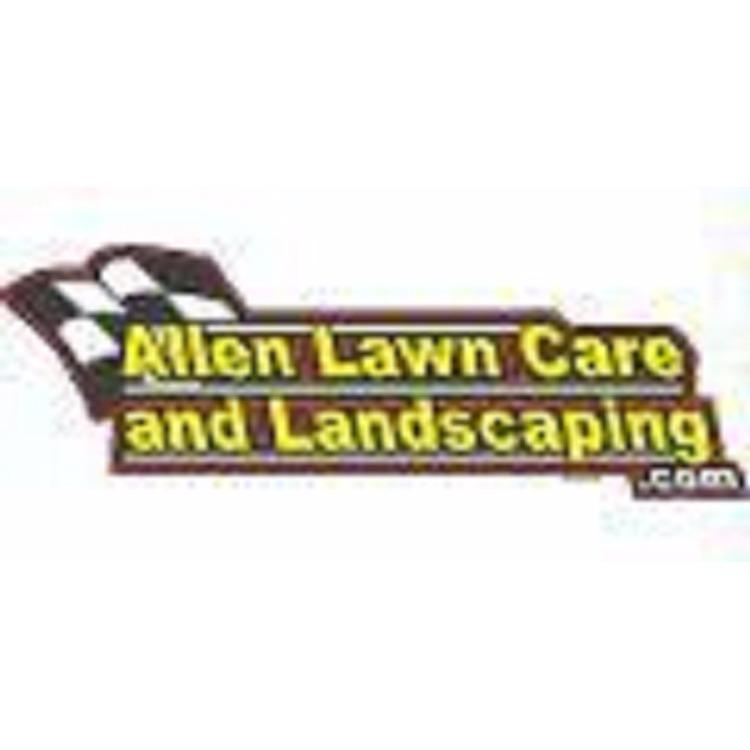 Allen Lawn Care And Landscaping Logo