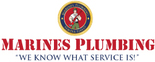 Marines Plumbing Logo