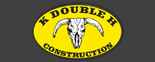 K Double H Construction Logo