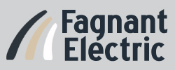 Fagnant electric  logo