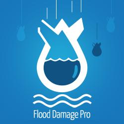 Flood Damage Pro Logo