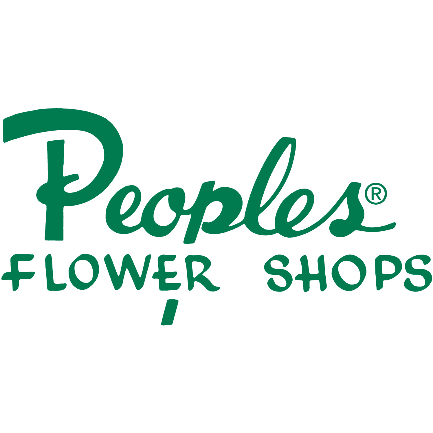 Peoples Flower Shops Far North Location Logo