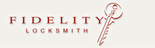 Fidelity Locksmith Logo