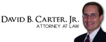 David B. Carter, Jr., Attorney at Law Logo