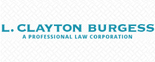 The Law Offices of L. Clayton Burgess Logo