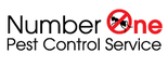 Number One Pest Control Service Logo
