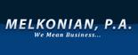 Melkonian, P.A. Logo