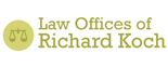 Law Offices of Richard Koch Logo