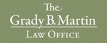 The Grady B. Martin Law Office Logo