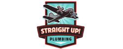 Straight Up Plumbing Logo