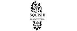 Squish pest control logo
