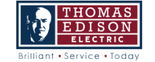 Thomas Edison - Carbon County Logo