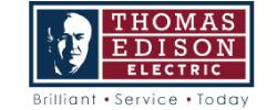 Thomas Edison - Delaware County Logo