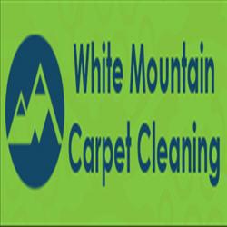 White Mountain Carpet Cleaning Logo