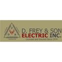 D. Frey & Son Electric Inc Logo