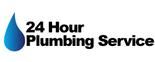 24 Hour Plumbing Service Logo