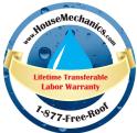 House Mechanics Roofing Logo