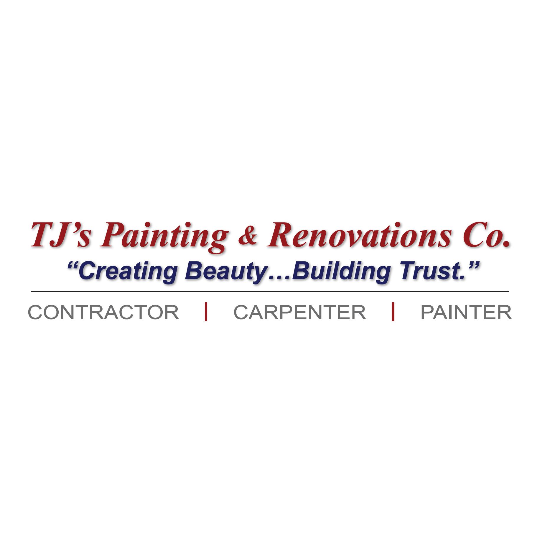 T.J.'s Painting & Renovations Co. Logo