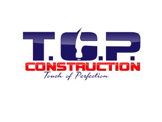 T.O.P. Construction Logo