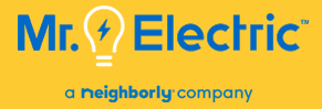Mr. Electric of Great Lakes Logo