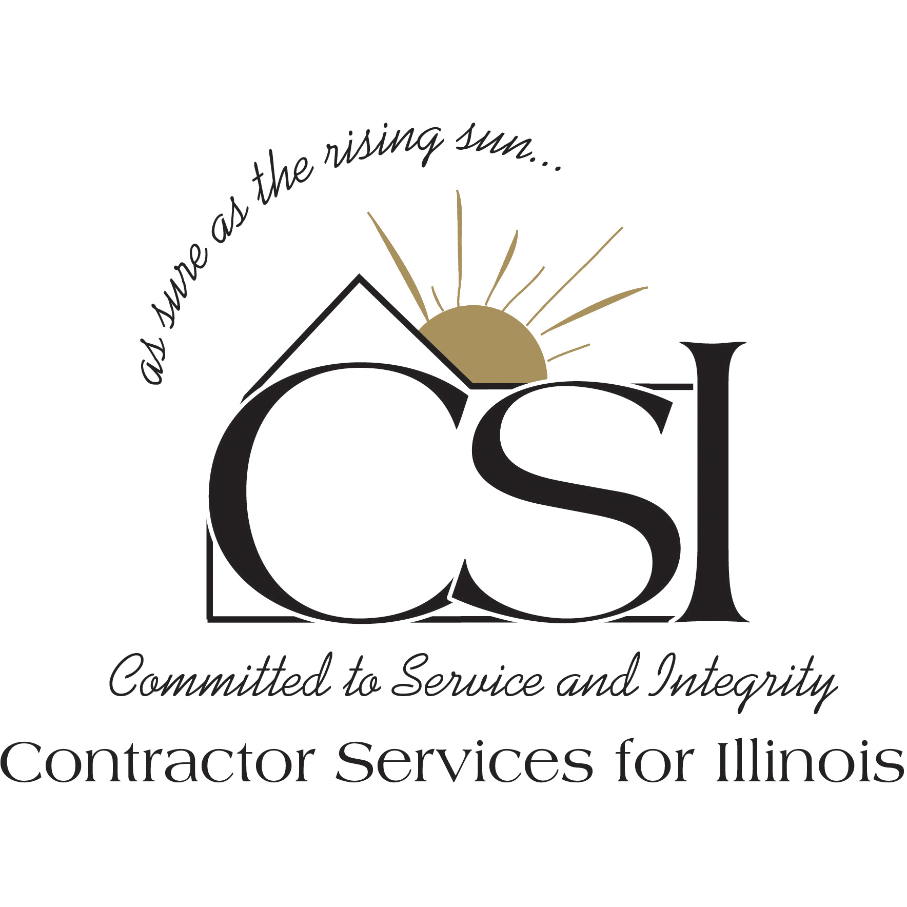 Contractor Services for Illinois Logo